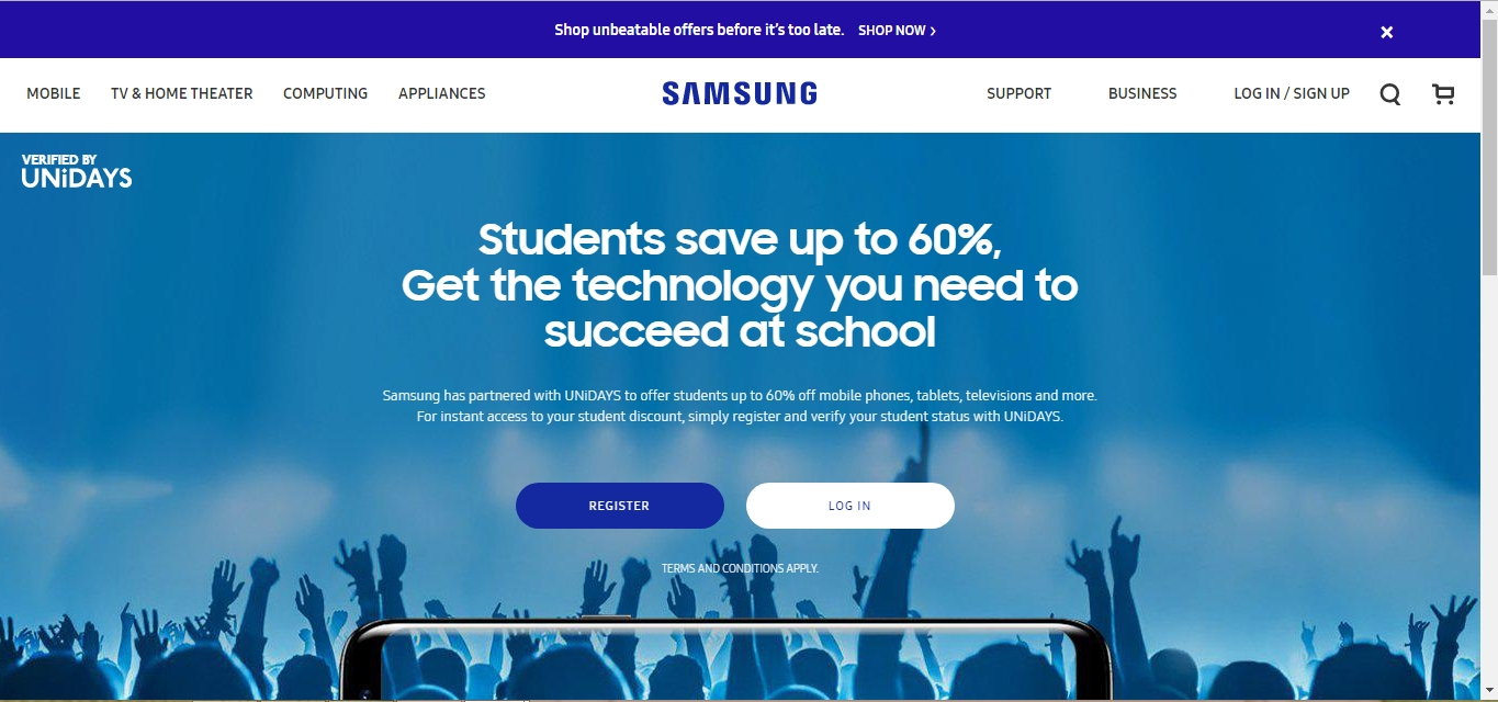 Samsung coupon codes 2018