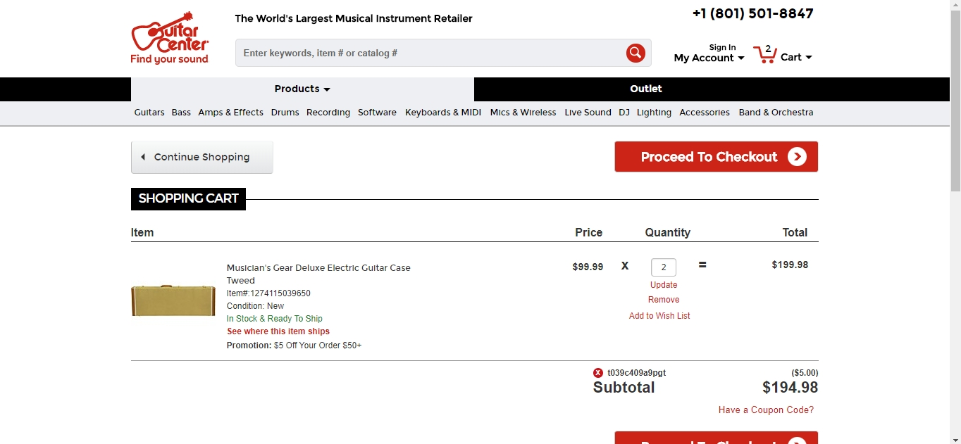 Guitar center discount coupon