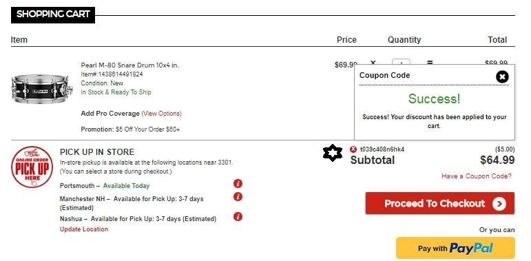 Guitar center discount coupon