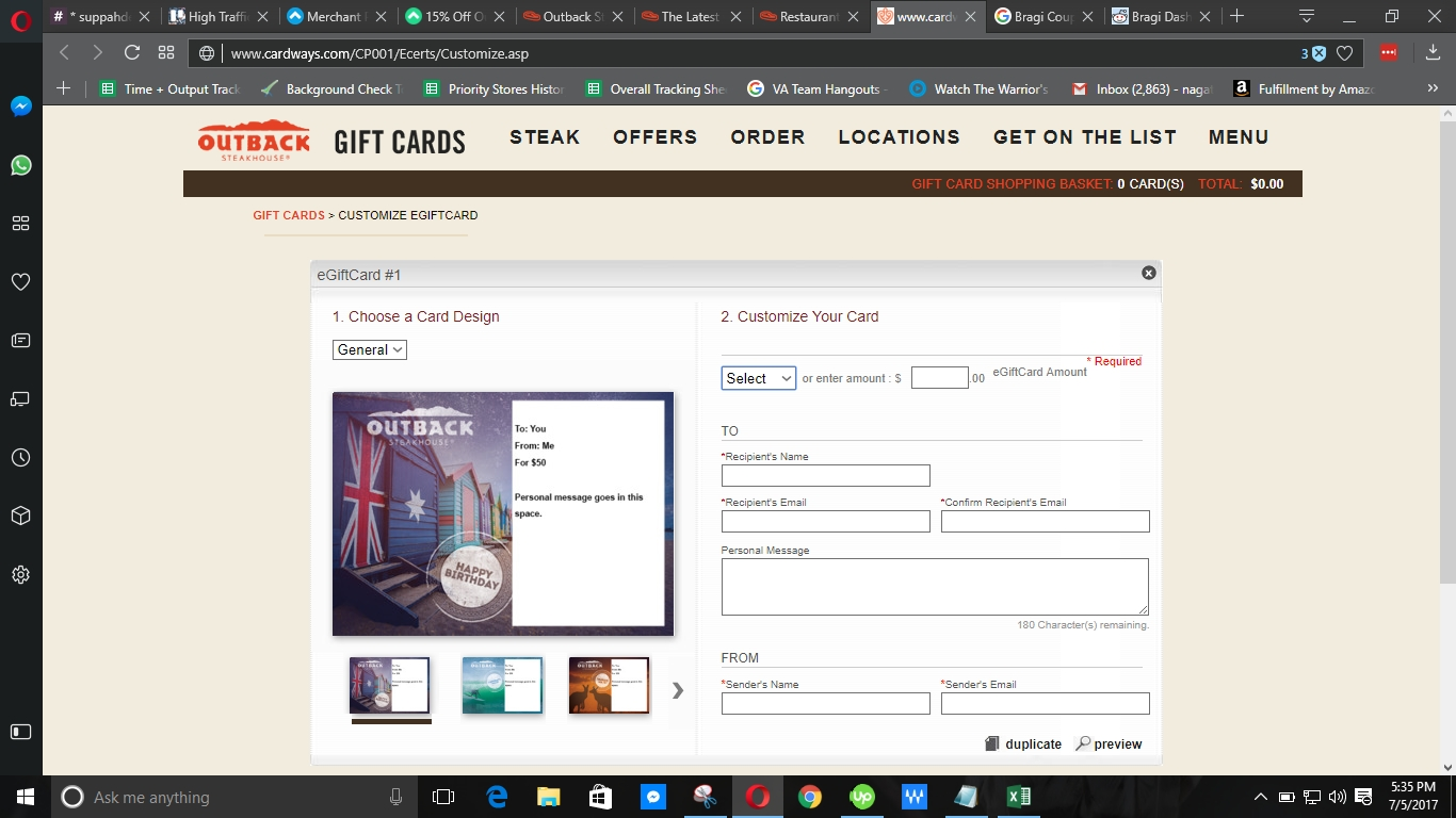 outback gift card deals 45 off outback steakhouse coupon code 2018 promo codes 7881