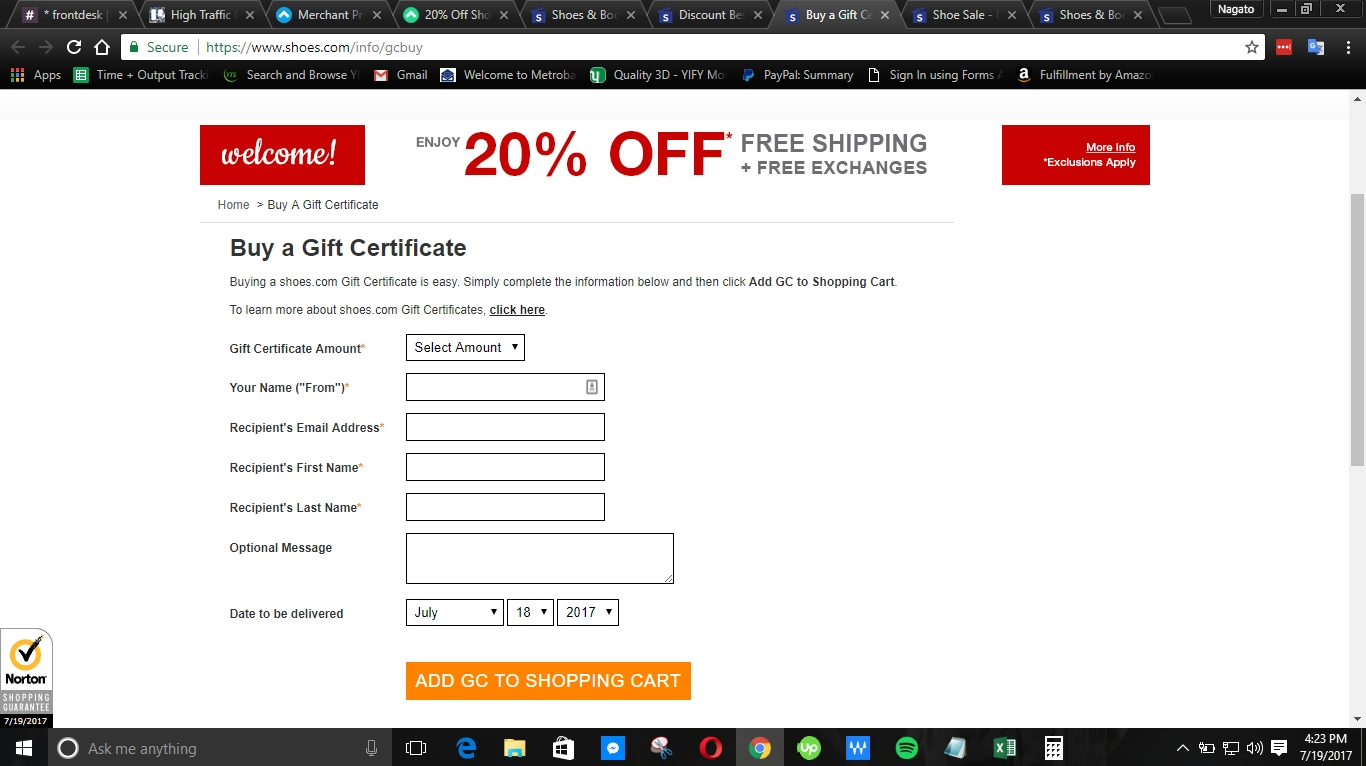Coupon code for shoebuy com