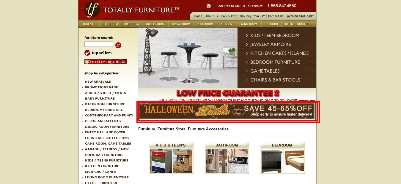 Totally furniture coupon code