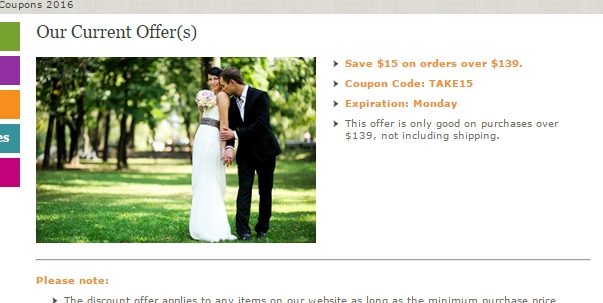30% Off Wedding Favors Unlimited Coupon Code 2017 | All Feb 2017 Promo Codes