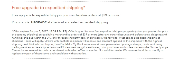 expedited shipping shutterfly coupon code snapdeal coupon codes