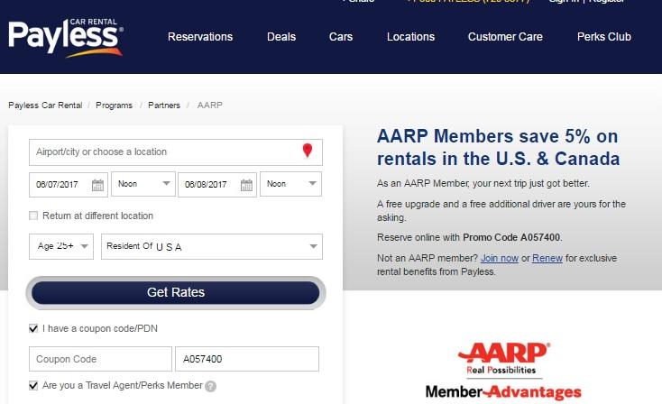 Payless car rental coupon code may 2017 17