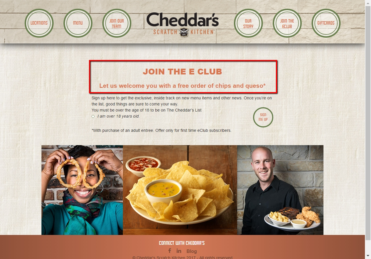Cheddars Kitchen Coupons