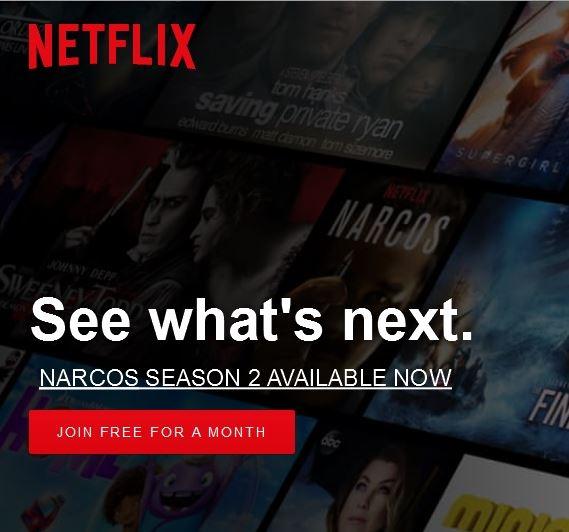 Netflix coupon code