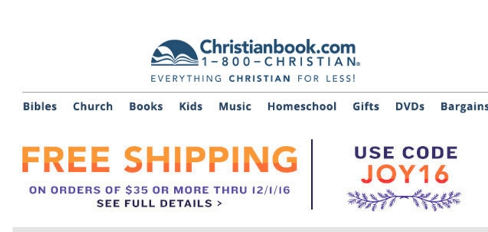 30% Off Christianbook.com Coupon Code | Save $20 w/ Promo Code Christianbook.com Coupon Code