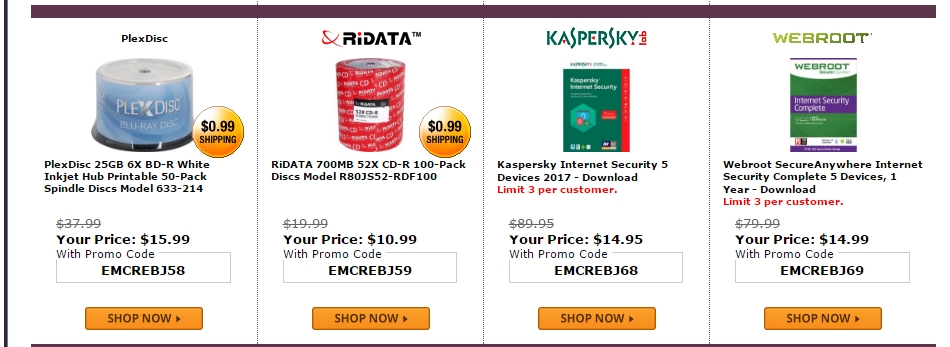 Kaspersky Lab offers a number of computer security products on a subscription basis as well as number of free trials that allow you to try their services before you buy. Additional discounts and coupon codes for Kaspersky Lab may be found at educational-gave.ml