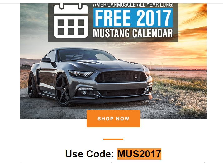 Americanmuscle coupon code