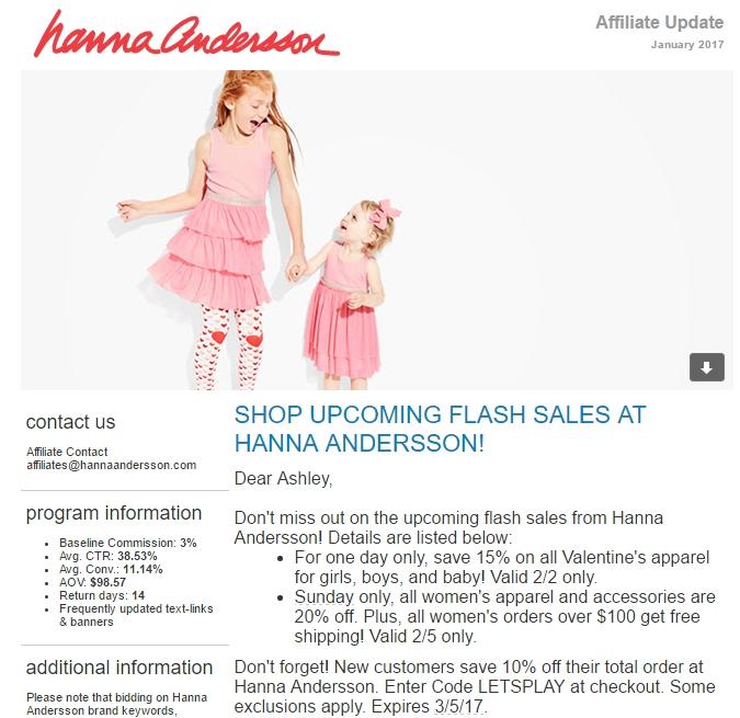 Hanna andersson coupon printable