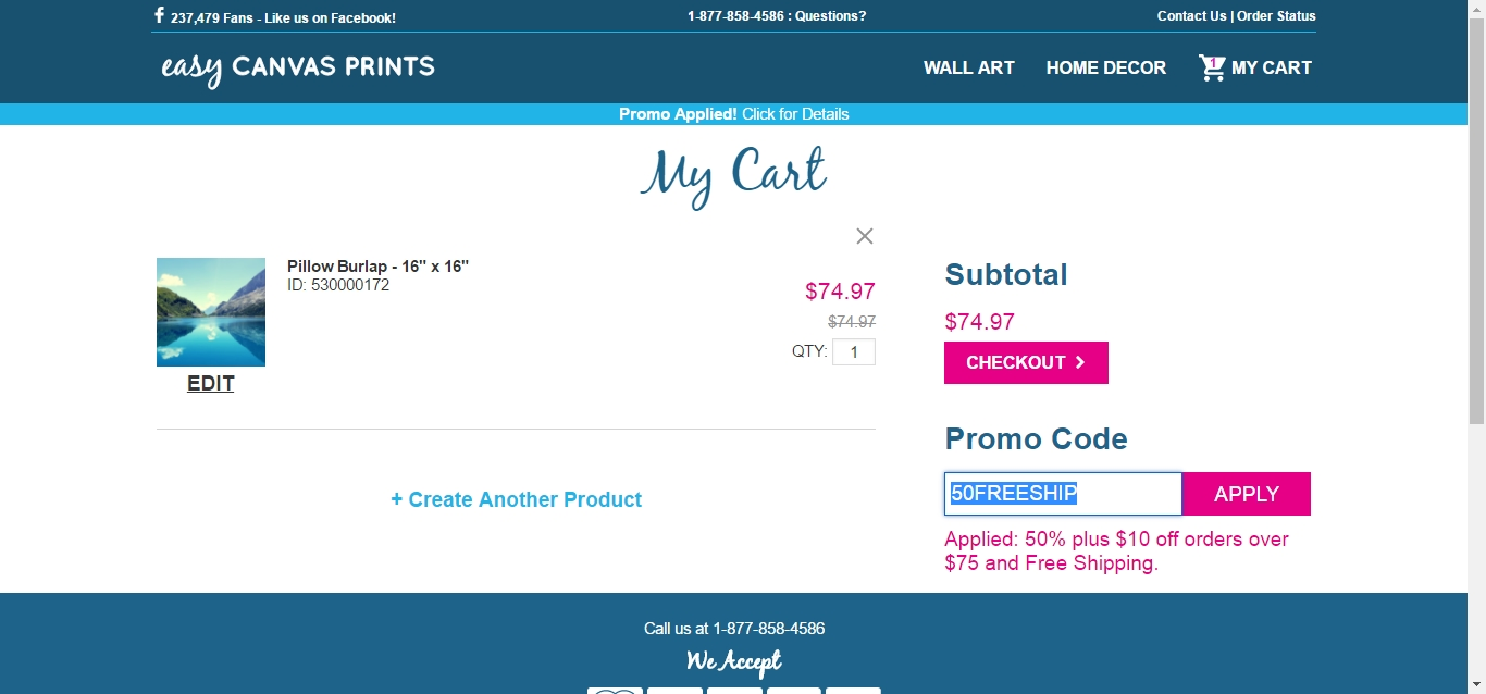 Canvas discount coupon codes