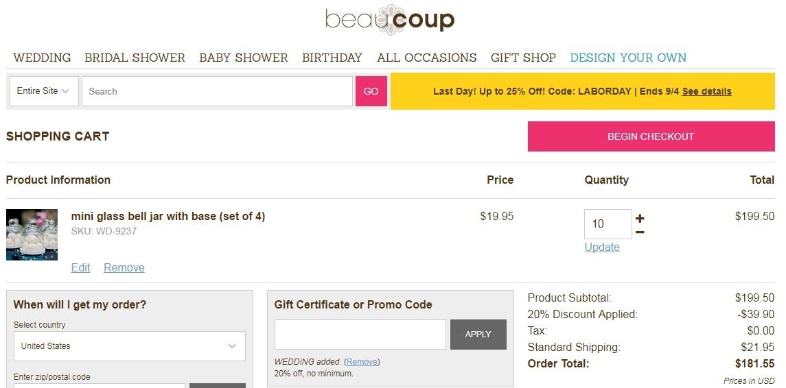 Beau coup coupon code