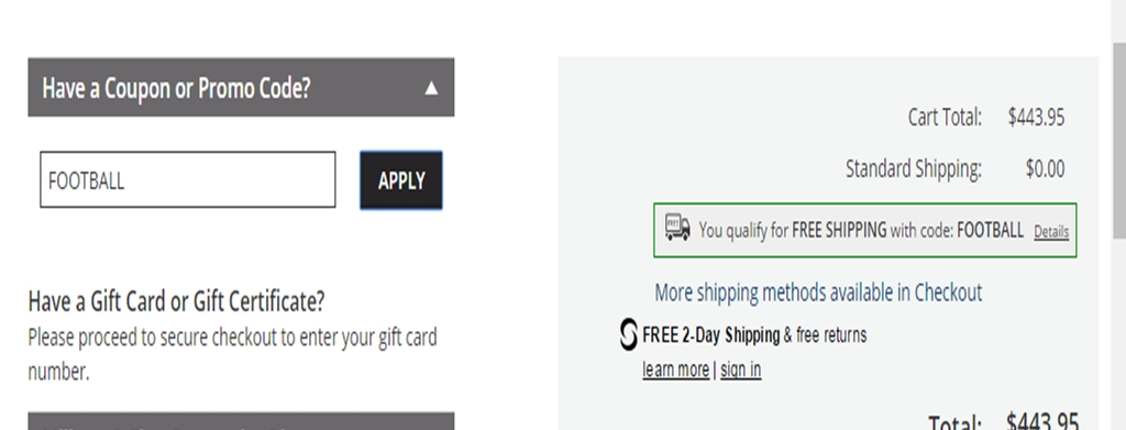 Hundreds of well-known online stores like Barnes and Noble, Staples, and techhelpdesk.tk have a place within their shopping cart for a