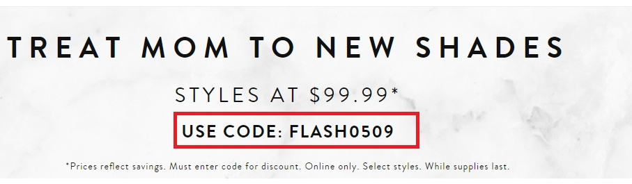 photograph about Sunglass Hut Printable Coupons identified as Sungl hut printable discount coupons 50 off - Bayer usb meter coupon