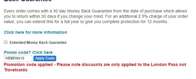 London pass coupons discounts