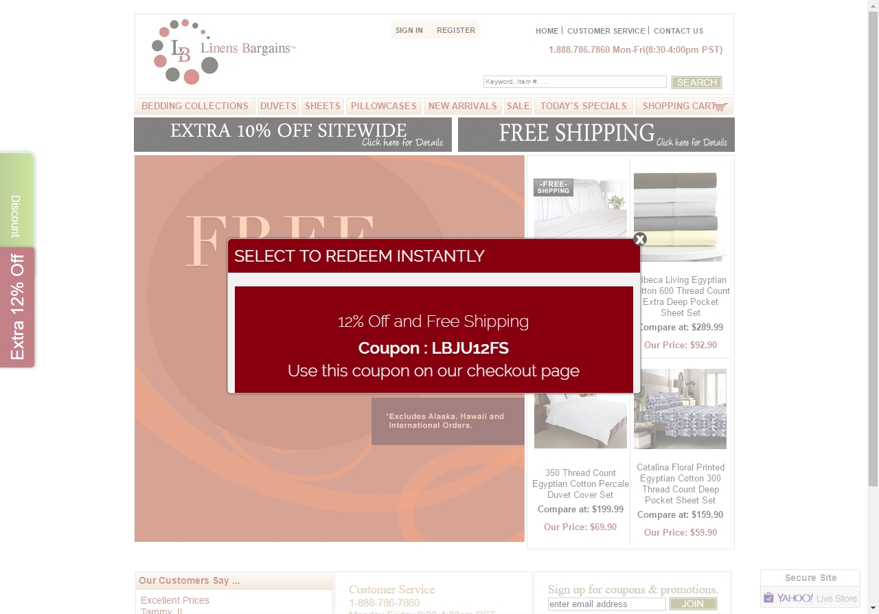 Free shipping coupons for anna's linens