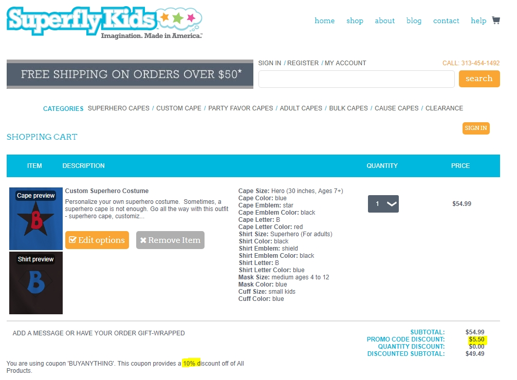 Superfly coupon code