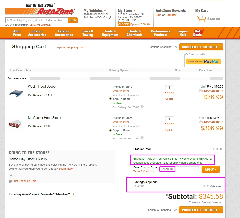 Buyautoparts discount coupons