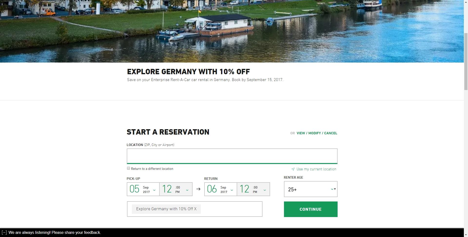 Enterprise car rental coupons 2019