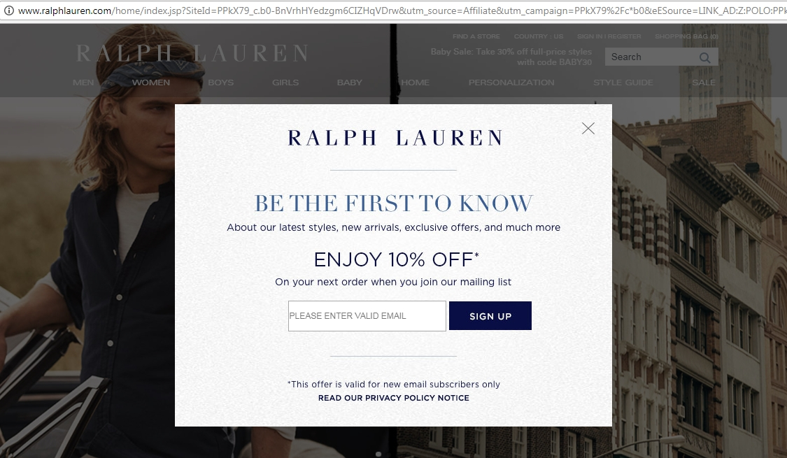 10 off ralph lauren coupon code ralph lauren 2018 codes dealspotr. Black Bedroom Furniture Sets. Home Design Ideas