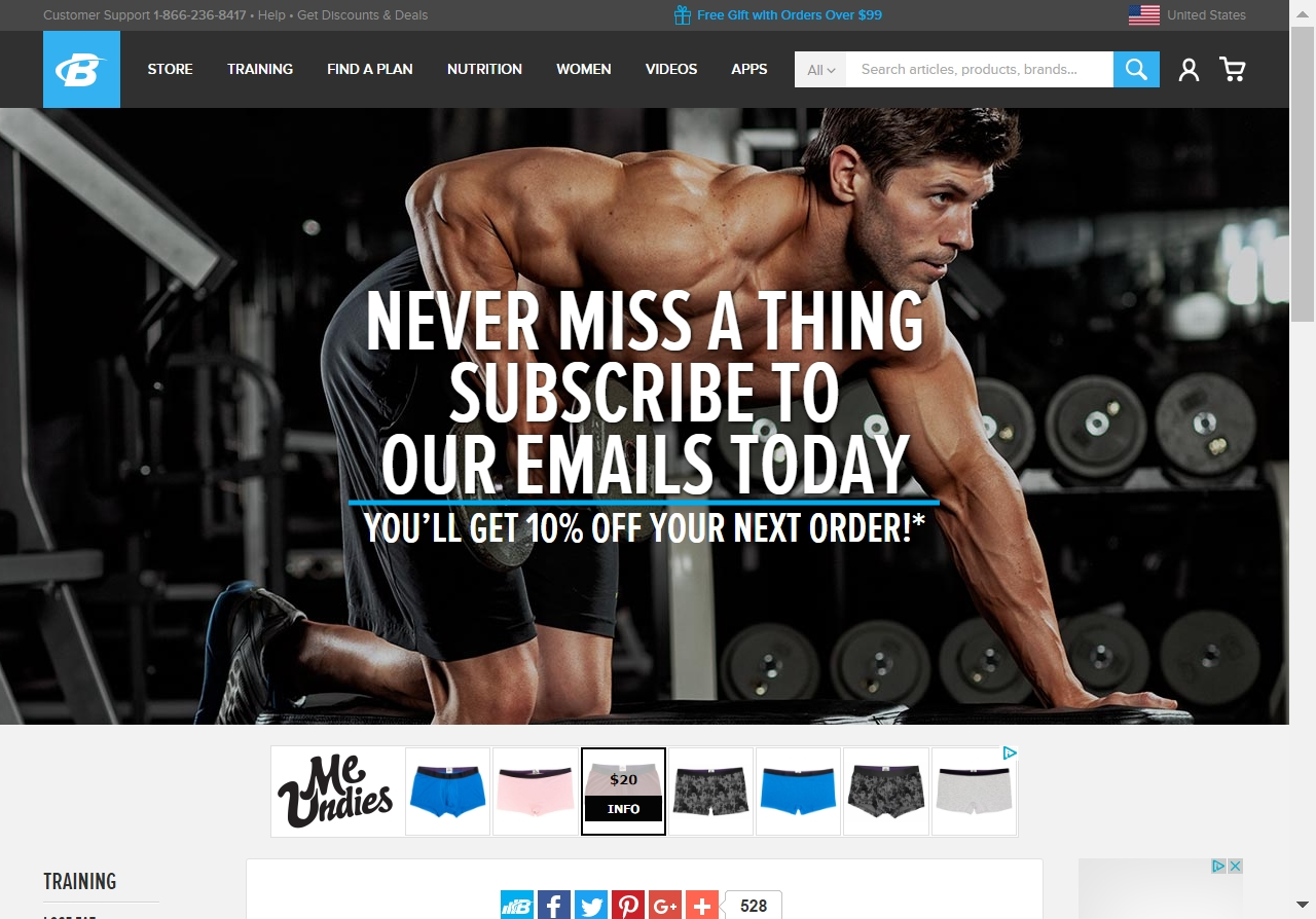 Bodybuilding com 20 coupon code