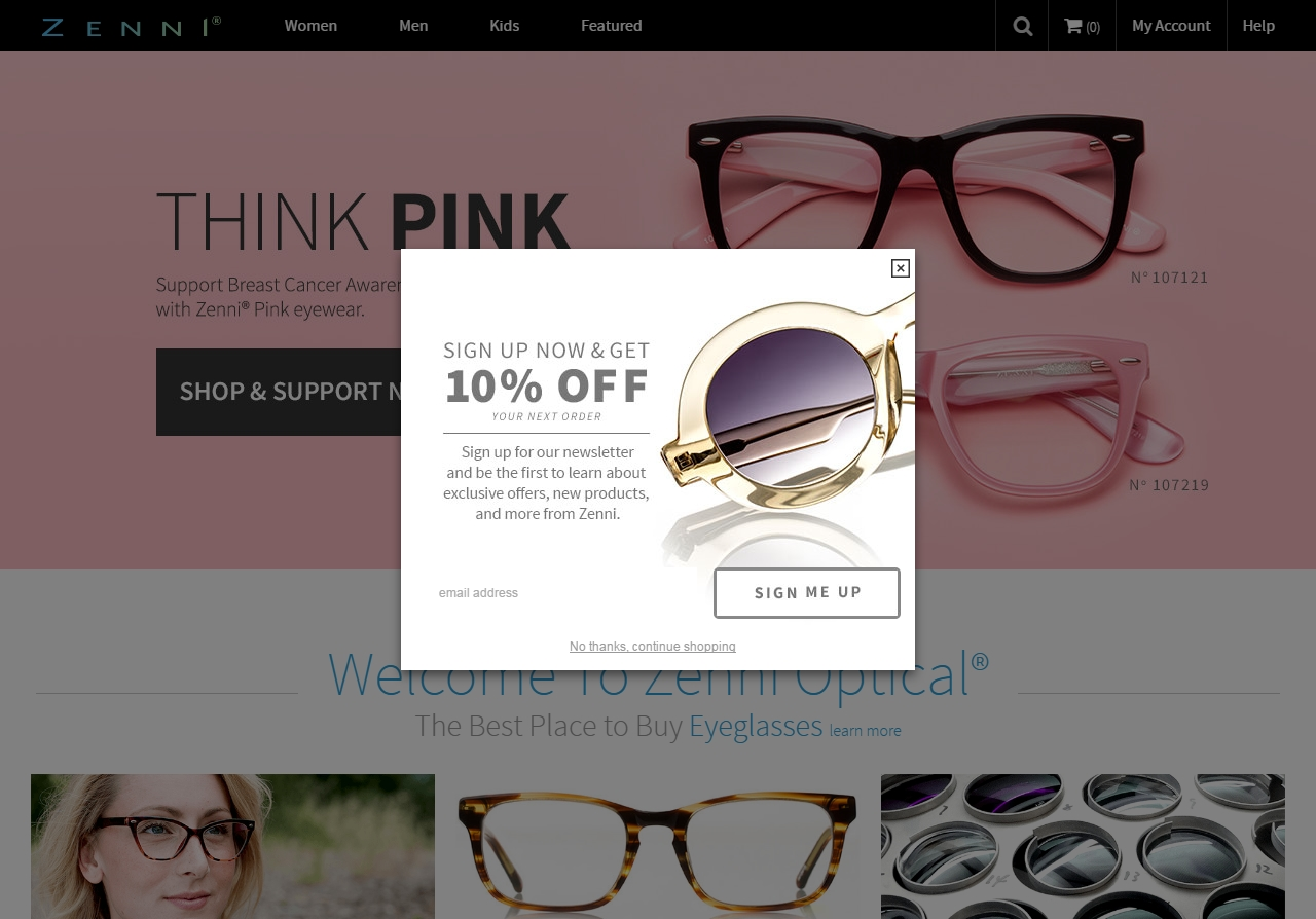 Zenni optical coupon code