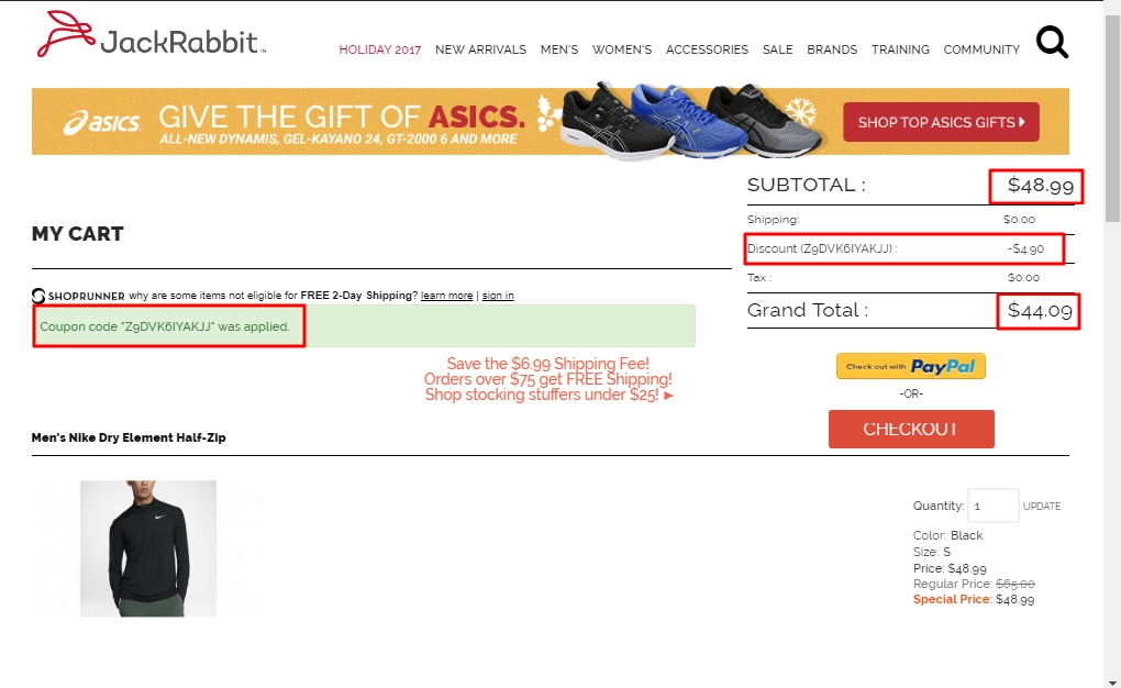 Jackrabbit coupon code