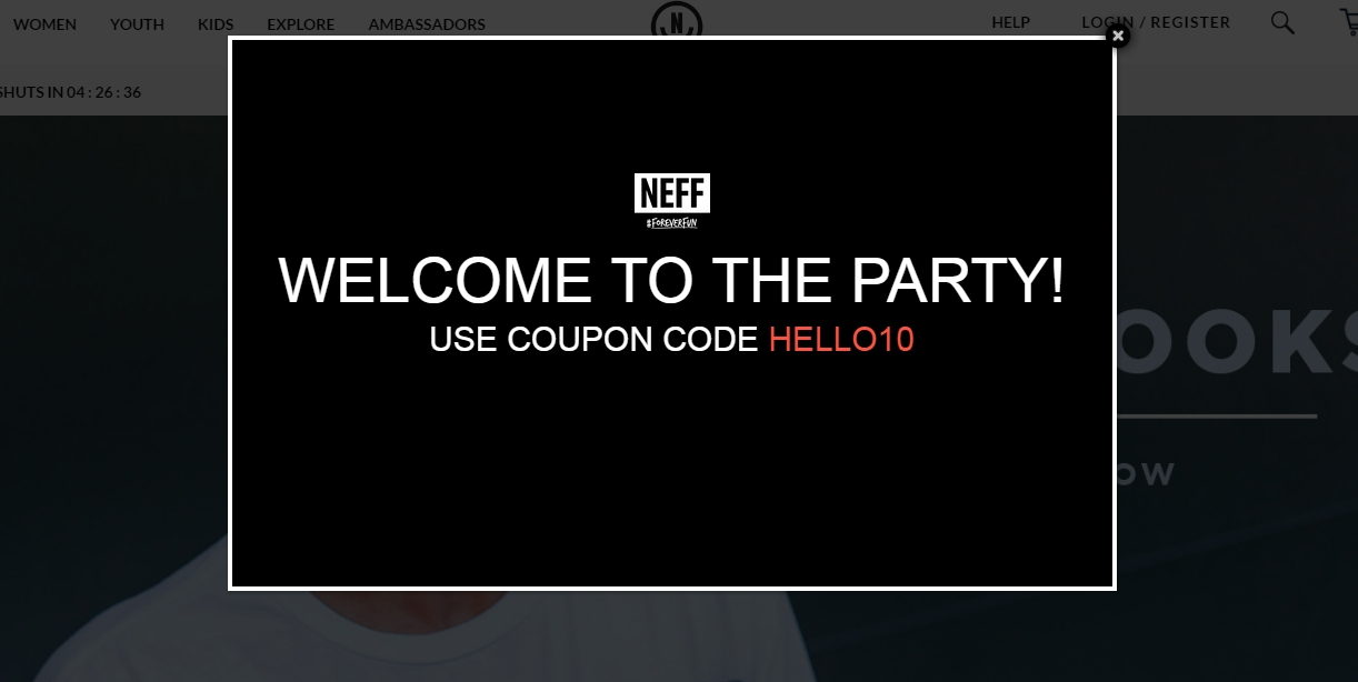 Neff coupon code
