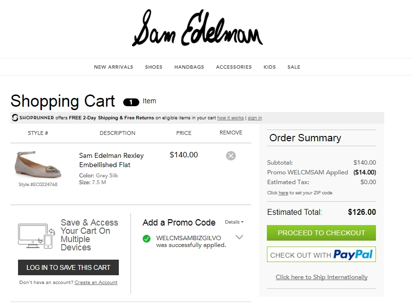 Save up to 50% with these current Sam Edelman coupons for December The latest dendeseabli.cf coupon codes at CouponFollow.