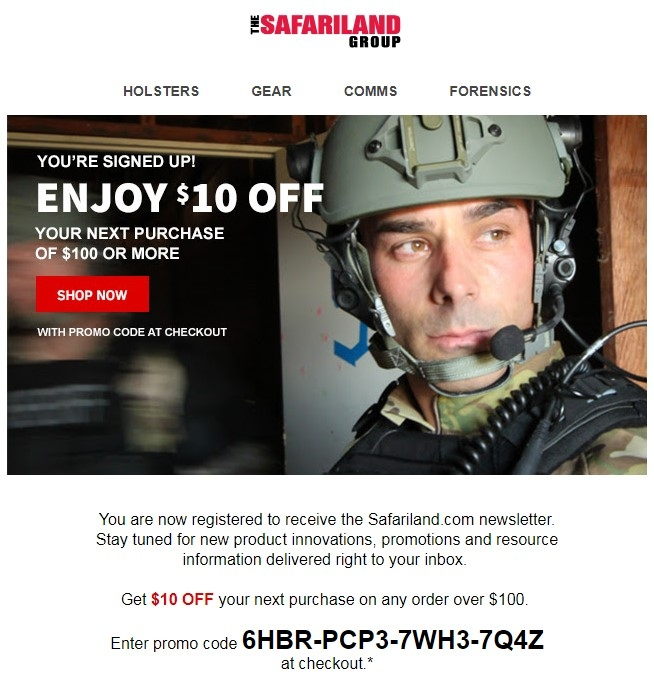 How to use safariland promo code coupons Click on