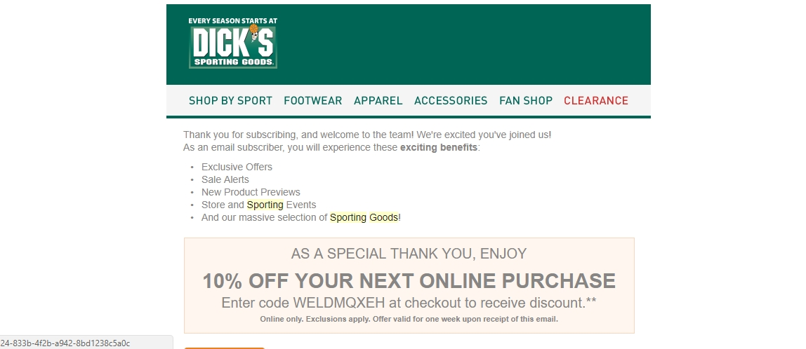 Amazon coupon codes 2018 sporting goods