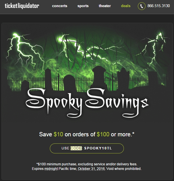 Find Ticket Liquidator Promotional Codes, Ticket Liquidator Coupon Codes and Ticket Exclusive Coupon Offers· Never Pay Full Price· Codes Validated Daily.