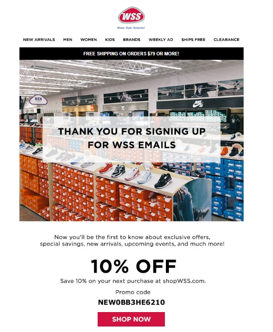 image regarding Wss Printable Coupon identify Wss sneakers coupon codes : Pigsback grocery discount codes