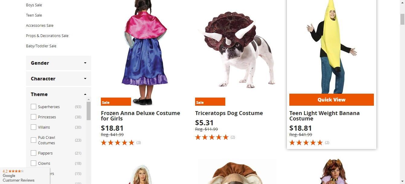 Amazon Prime Halloween Costumes