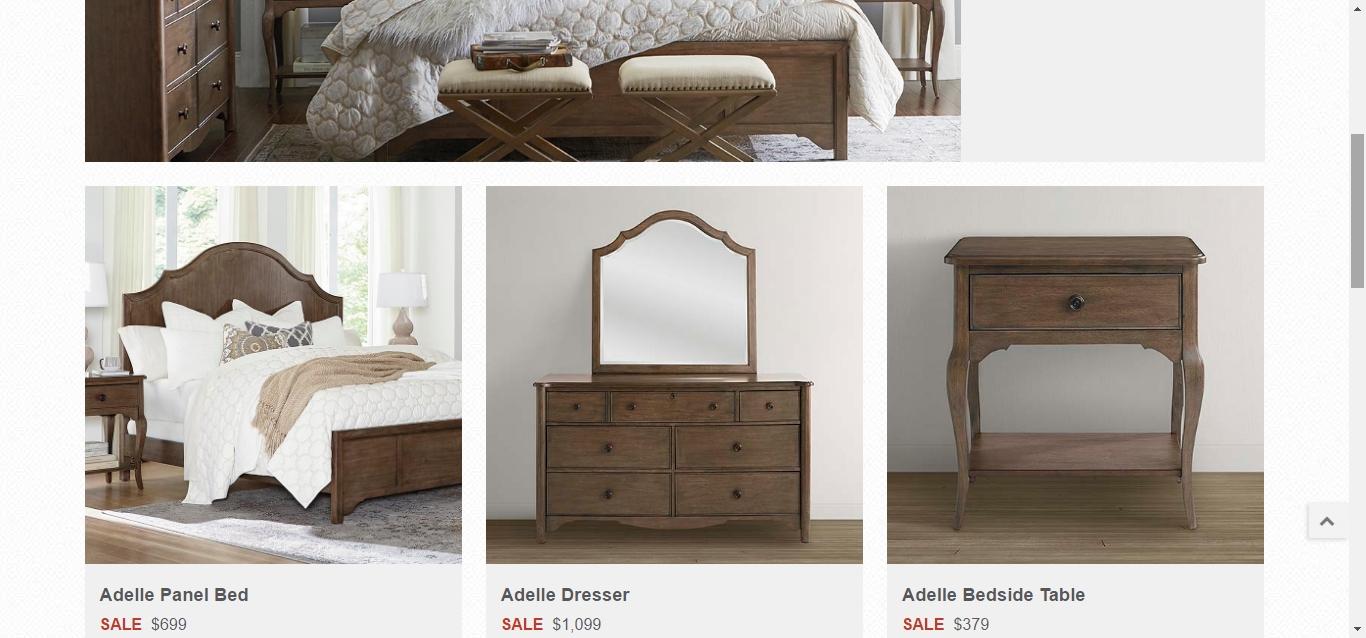 Vaughan bassett furniture credit card vaughan bassett for Hom furniture credit