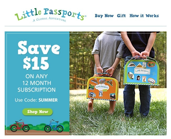 Little passports coupon code