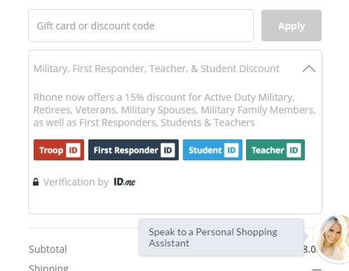 Rhone coupon code