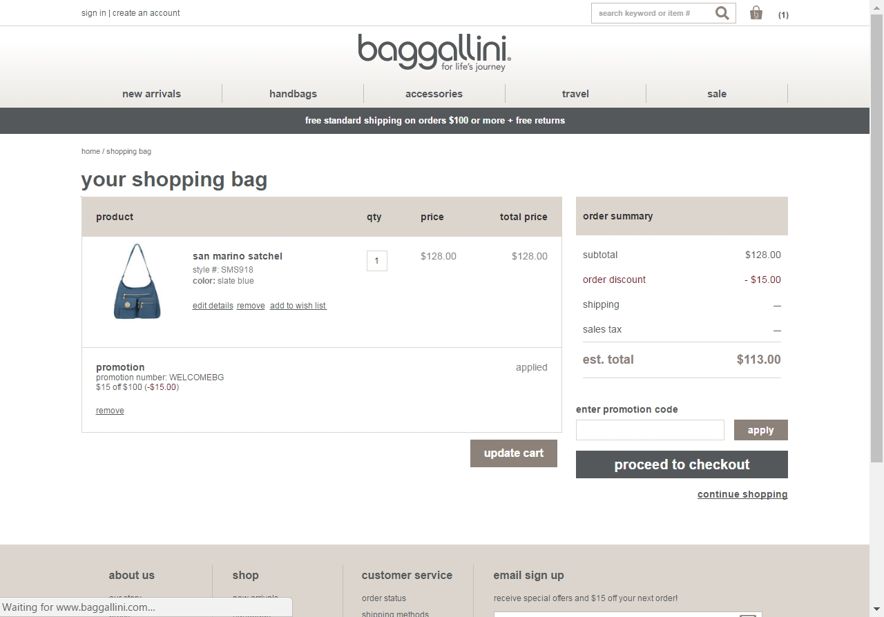 Browse amazing 16 live baggallini offers available at 360peqilubufebor.cf Save 50% Off by using baggallini coupon code & coupon at Extrabux.