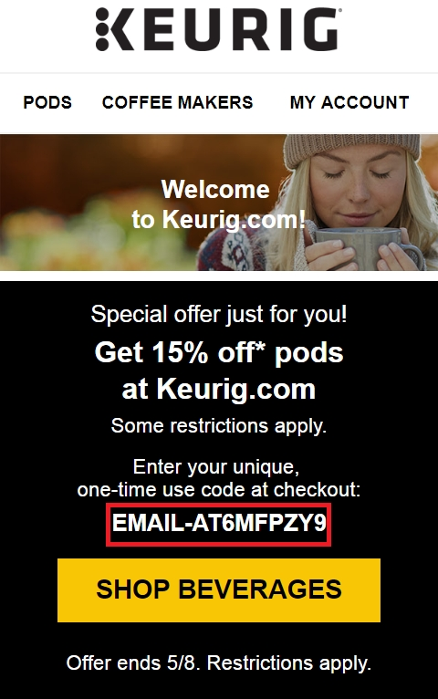 Keurig coupon codes 2018