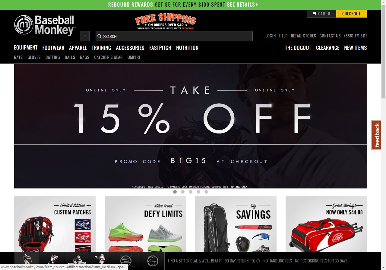 What are the best MLB Shop coupons? Finding a MLB Shop promo code is very rare. They do however, offer a variety of discounts throughout the year that can lead to big savings on your purchases. 25% off coupons for your entire purchase are fairly common. Sometimes there is an order minimum, and other times it is a sitewide discount with no minimum.
