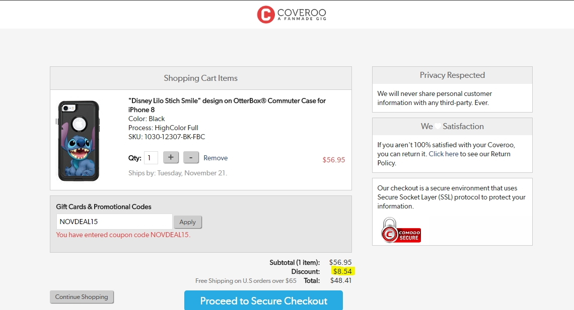 You can also save as much as you can with AnyCodes Coveroo Coupons & deals. The list will be updated when our editors find any new promo codes or deals. You could visit us from time to time for new offers for Coveroo, avoiding missing the opportunity to save $.