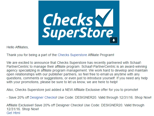 Can't find a code? Request one.. Connect with Checks Superstore. You are viewing current bizmarketing.ml coupons and discount promotions for December For more about this website, and its current promotions connect with them on Twitter @checksuperstore, or Facebook.