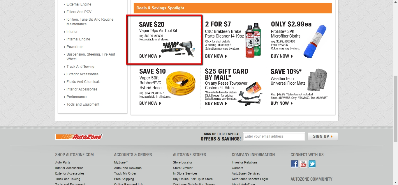 Autozone coupon codes