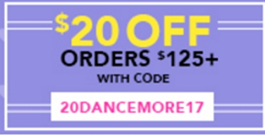Coupons all about dance