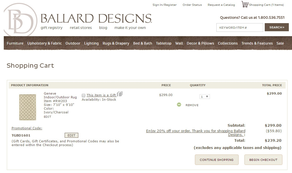 Coupons ballard designs discount codes