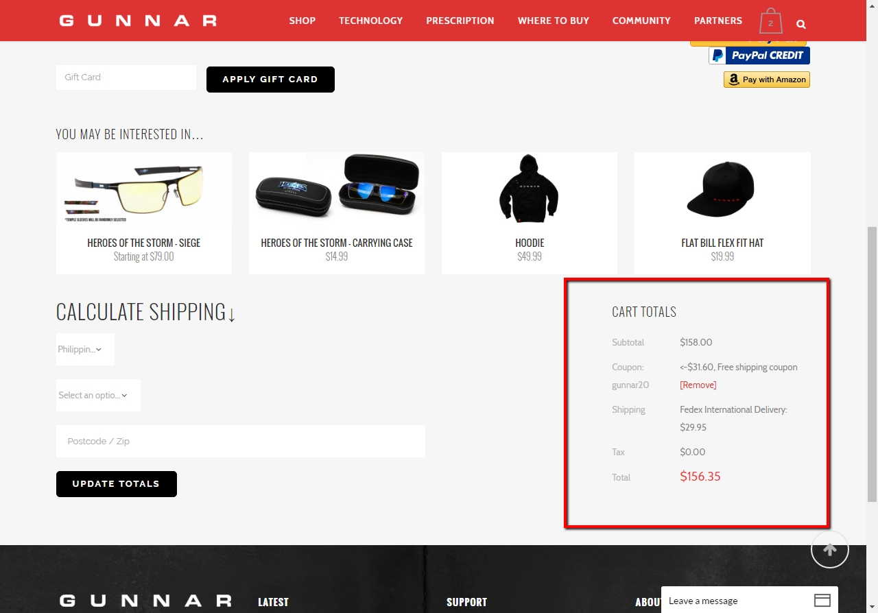 Gunnar coupon code
