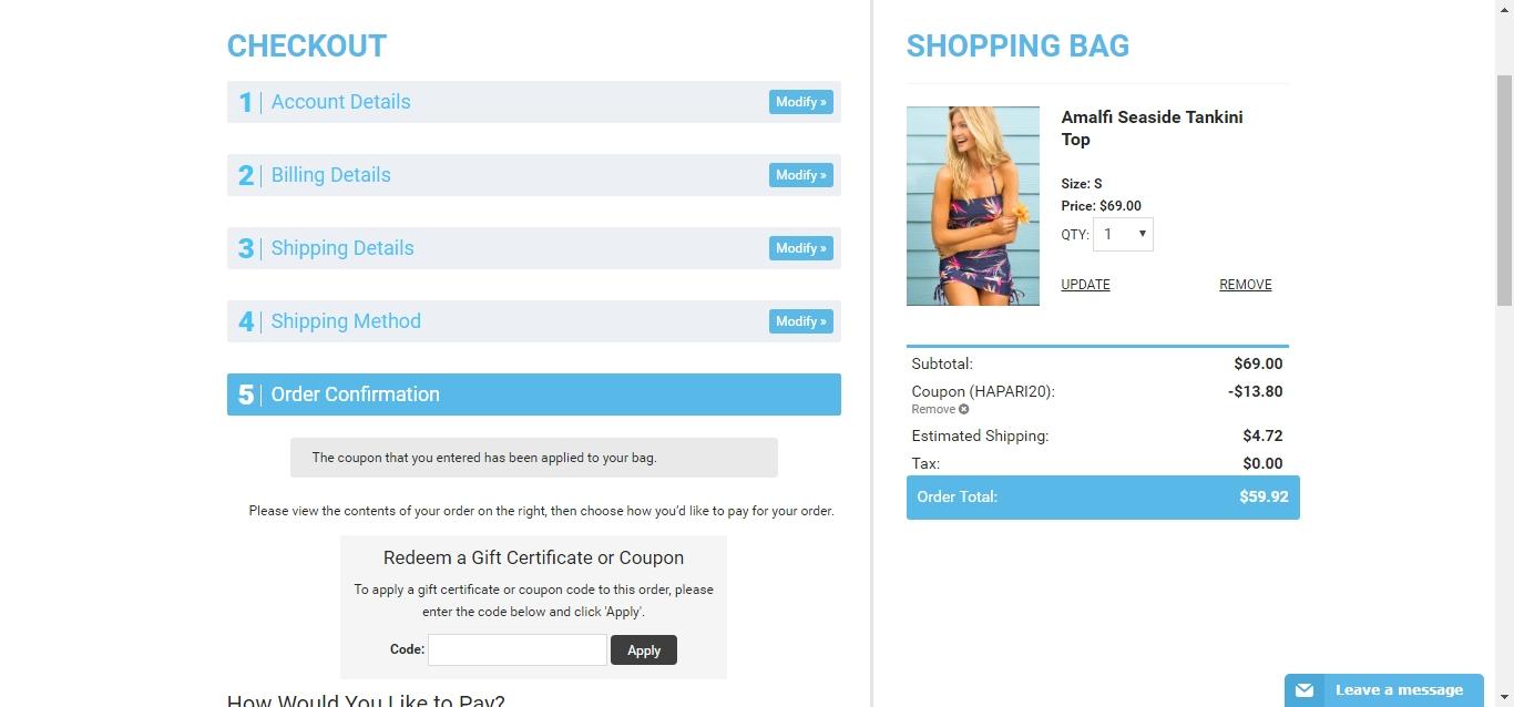 Hapari coupon code