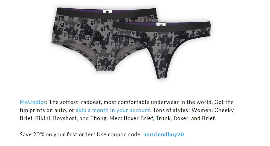 Meundies coupon code