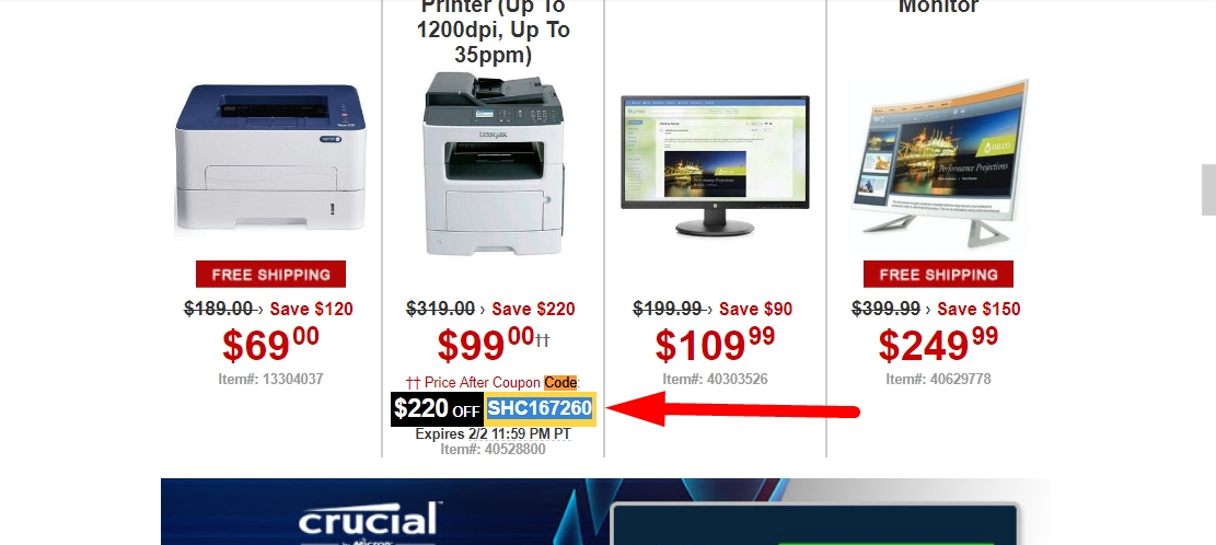 TigerDirect also has a price matching policy where they will meet any competitor's price on exact items. You can sometimes find additional coupon codes and sales events on their Facebook page so definitely check there for additional savings before making your final selections at checkout.